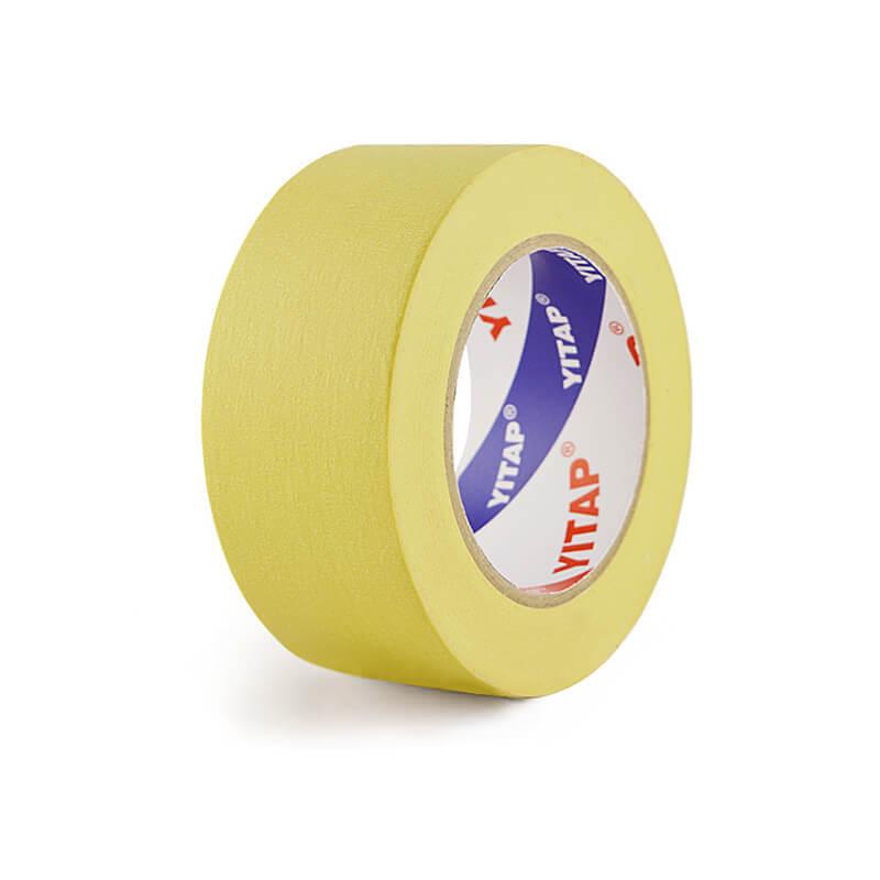 High Viscosity High Temperature Resist Yellow Automotive Masking Tape