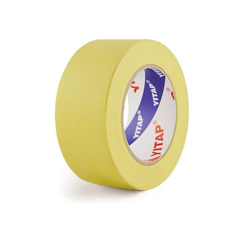 High Viscosity High Temperature Resist Yellow Automotive Masking Tape