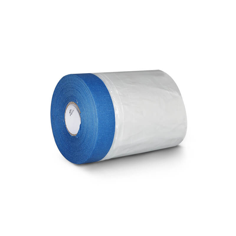 14 Day UV Resistant Crepe Paper Masking Pre-taped Masking Film