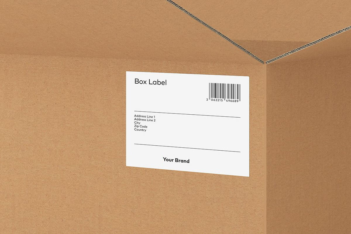 A.Box  Label