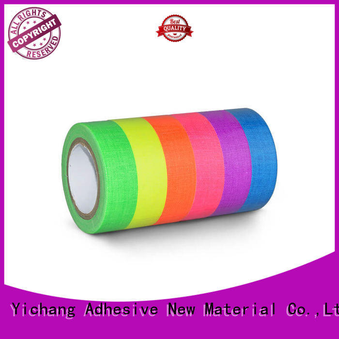 YITAP solvent based neon tape types for garment industry
