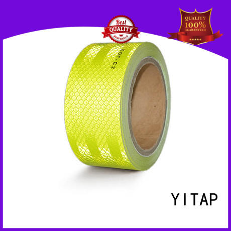 conspicuity tape install for manufacturing YITAP