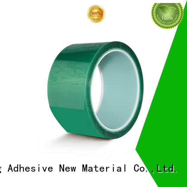 High Temperature Powder Coating Paint Silicone Polyester Film Adhesive Masking Tape