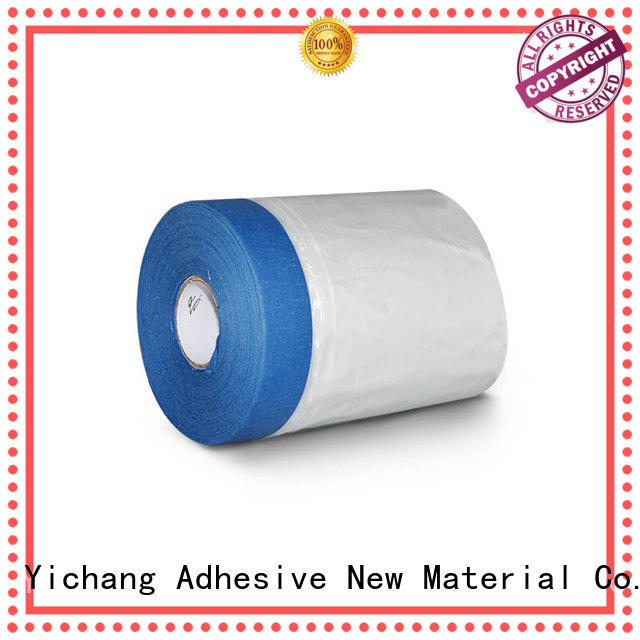14 Day UV Resistant Crepe Paper Masking Pre-taped Masking Film