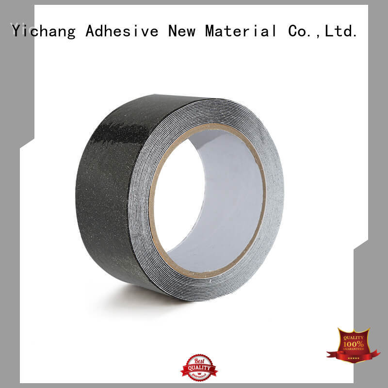 Waterproof Safety Anti Slip Rubber Corundum Adhesive Tape For Steps