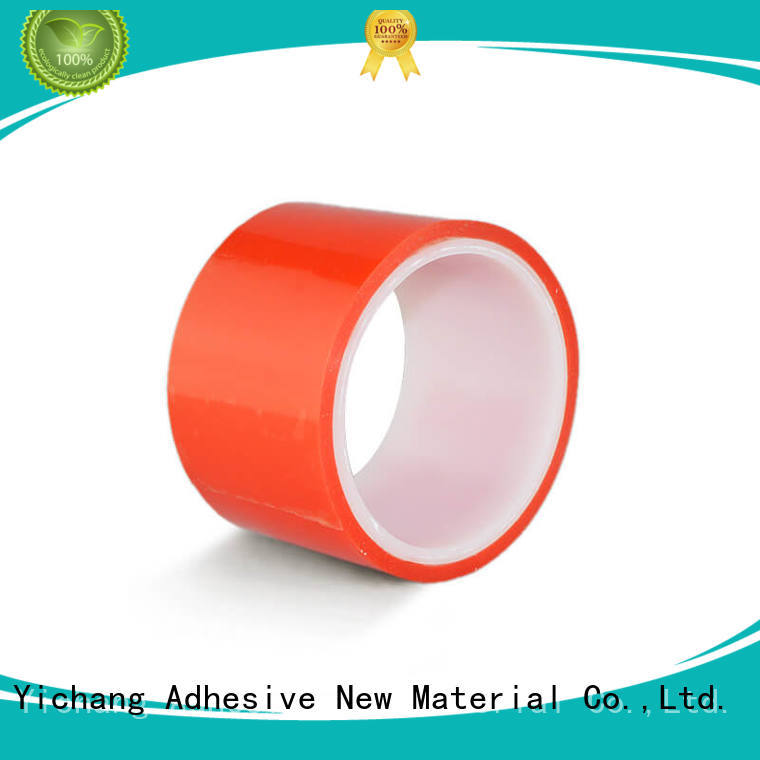 Strong Bond Red Film Liner Double Sided PET Polyester Tape