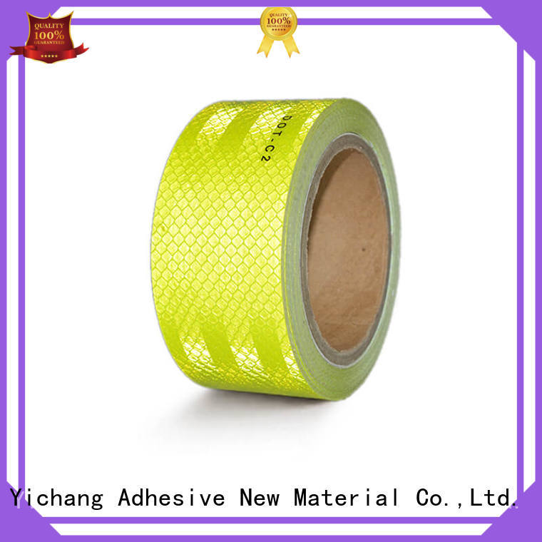 trailer reflective tape uses for manufacturing