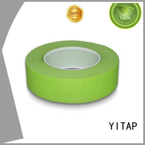 Heat Resistant Removable Automotive Paint Paper Crepe Masking Tape