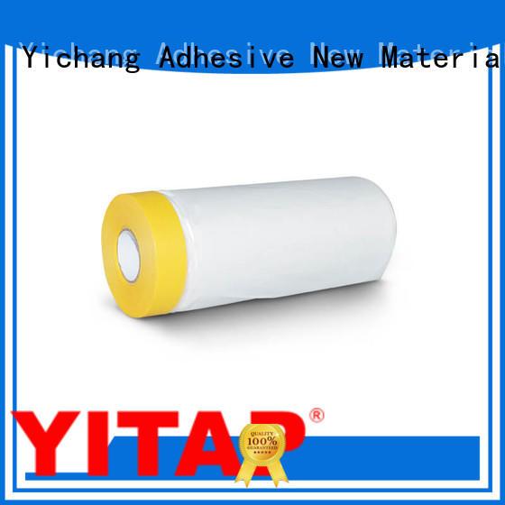 Custom pretaped high temperature masking tape car YITAP