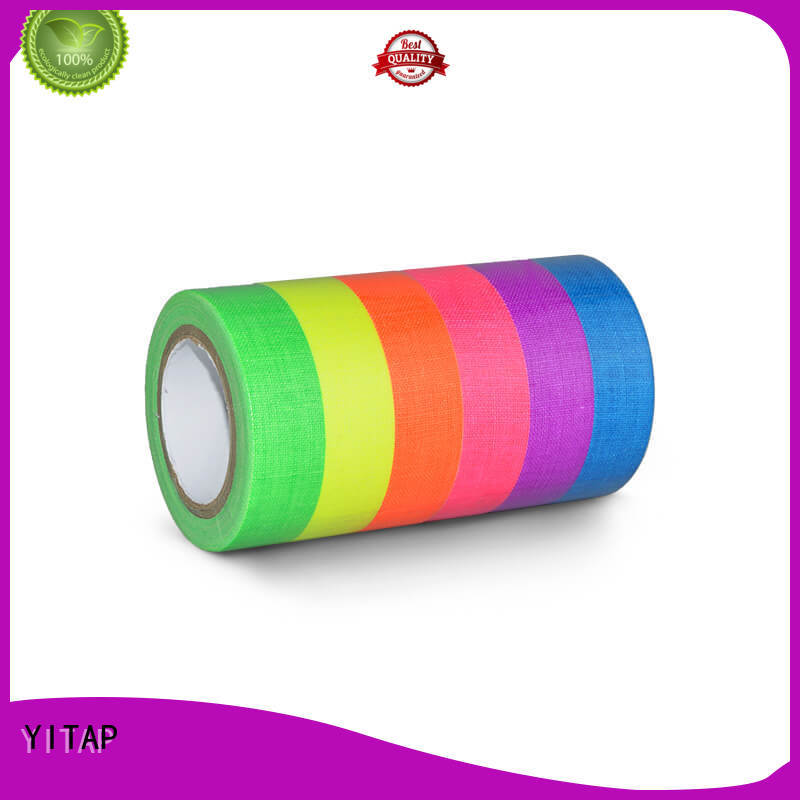 YITAP solvent based glow in the dark tape on sale for garment industry