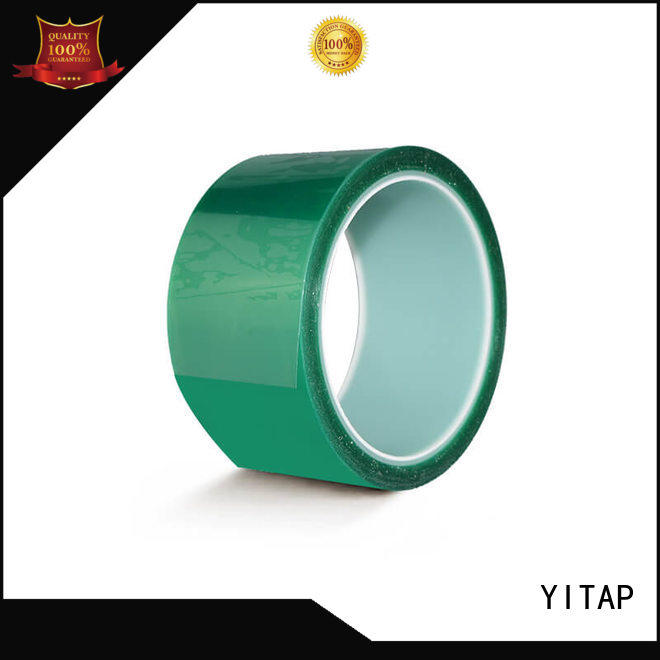 YITAP solid mesh red electrical tape for walls