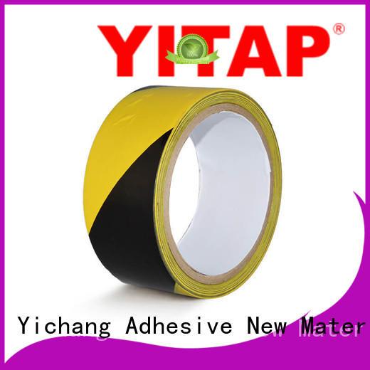 YITAP hazard warning tape production for floors