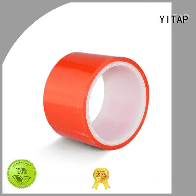 YITAP funky red double sided tape red