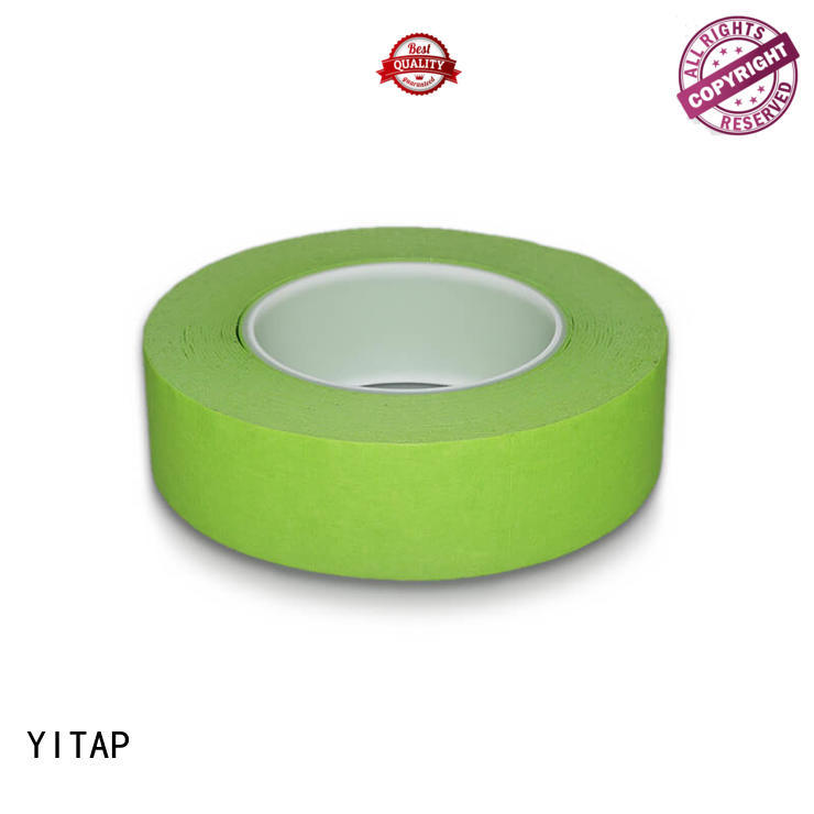 sticky automotive masking tape on a roll for fabric