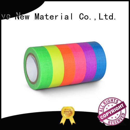 tape coloured pack YITAP Brand glow in the dark tape supplier