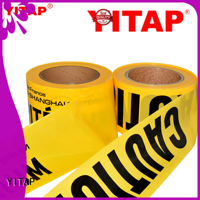 YITAP barricade tape apply for sign