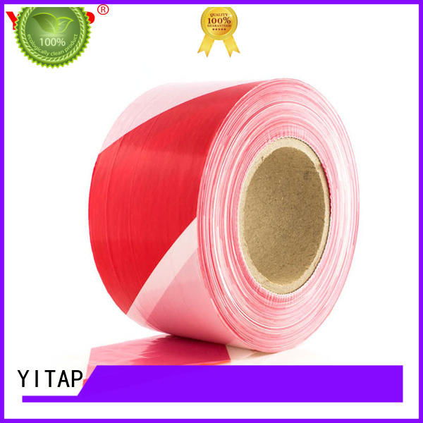 YITAP warning safety barricade tape apply for warning