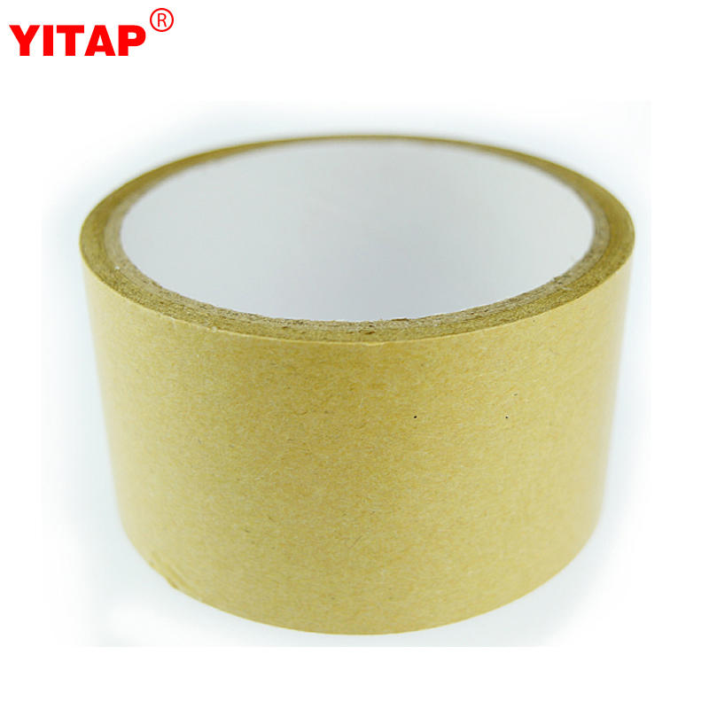 Self Adhesive Brown Gummed Flatback Kraft Paper Packing Tape