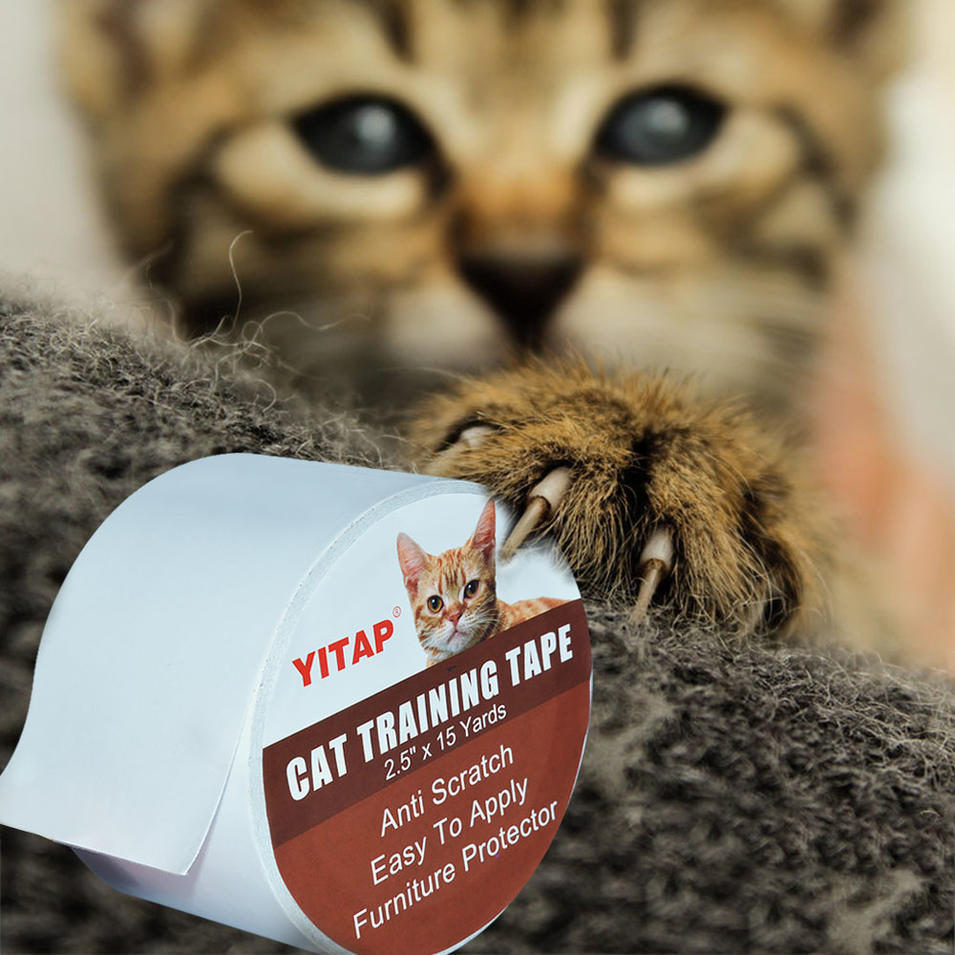 Double Sided Sticky Paws Anti Cat Scratch Deterrent Tape