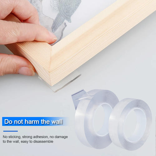 Transparent Clear Pu Gel Nano Pad Monkey Double Sided Nano Magic Tape
