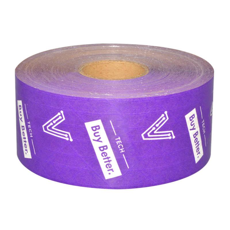 Custom Purple Color Kraft Tape