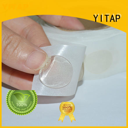 YITAP adhesive dots on a roll for fabric