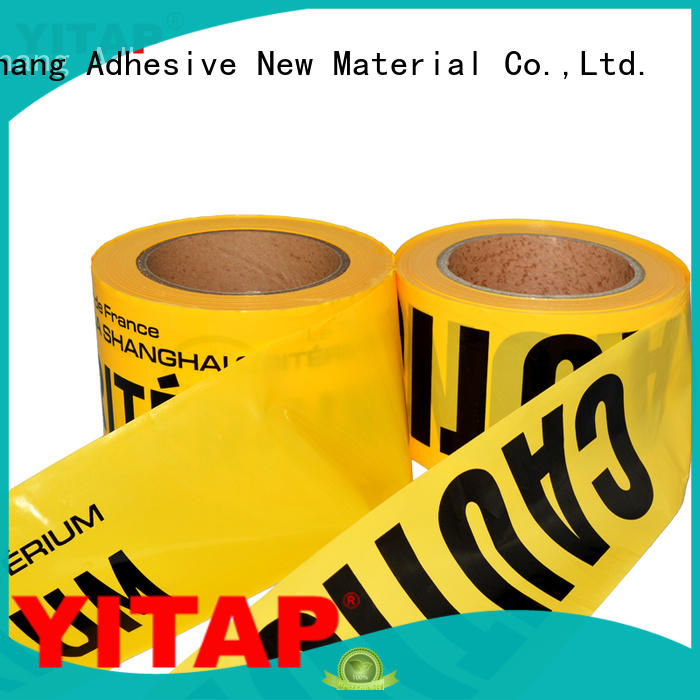 caution barricade tape supplier for sign YITAP