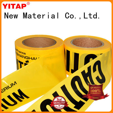 safety barricade tape roll for warning YITAP