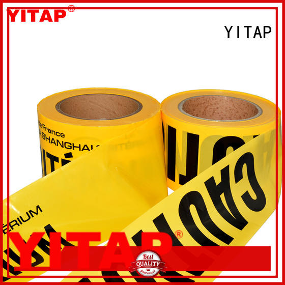 YITAP warning red barricade tape supply for warning