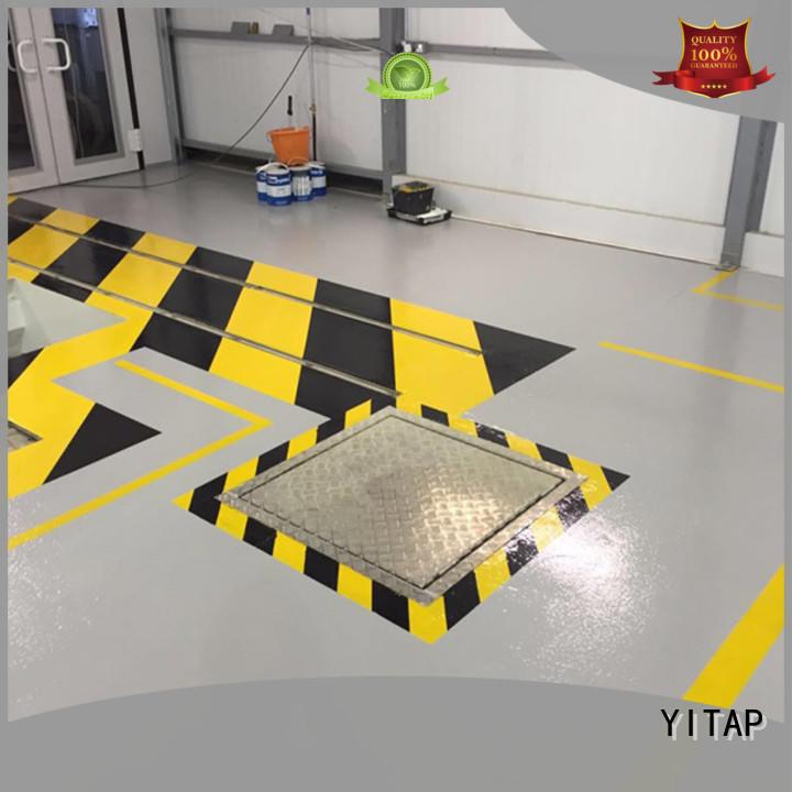 fluorescent green tape for tiles YITAP