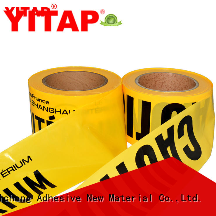 YITAP anti slip safety barricade tape roll for sign