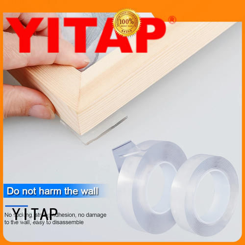 YITAP waterproof carpet edging tape clear for doors
