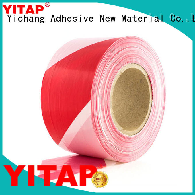 anti slip red barricade tape price for sign