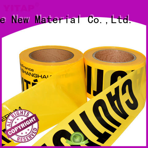 waterproof barricade tape manufacturers for warning