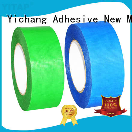 YITAP transparent brown masking tape permanent for packaging