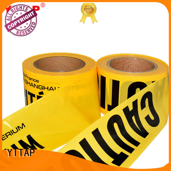 YITAP marking safety barricade tape manufacturers for caution
