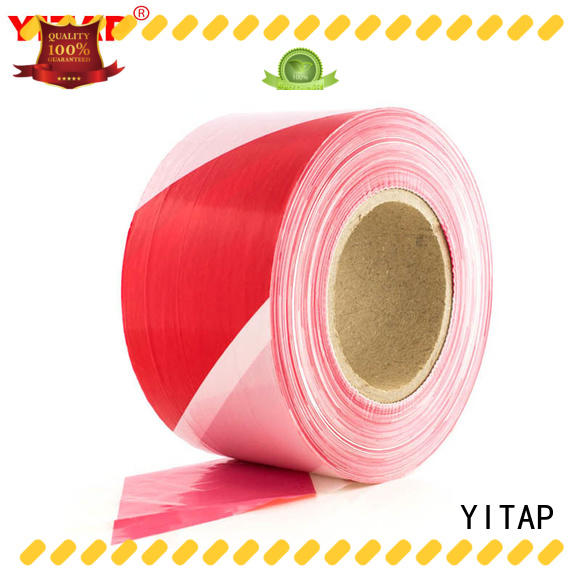 YITAP custom red barricade tape manufacturers for warning