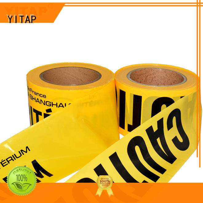 portable safety barricade tape roll for wholesale for sign