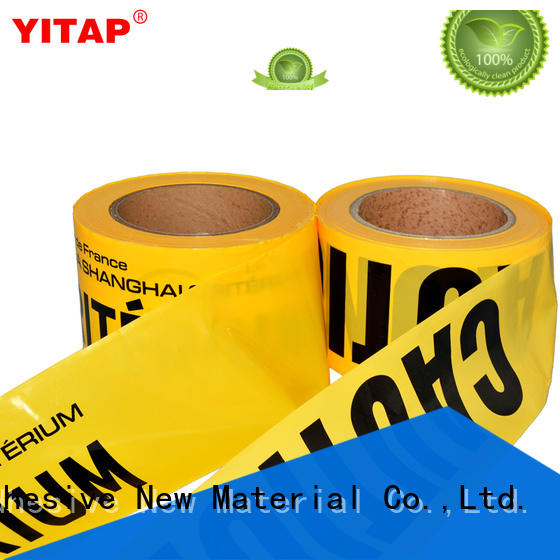 yellow barricade tape for warning YITAP