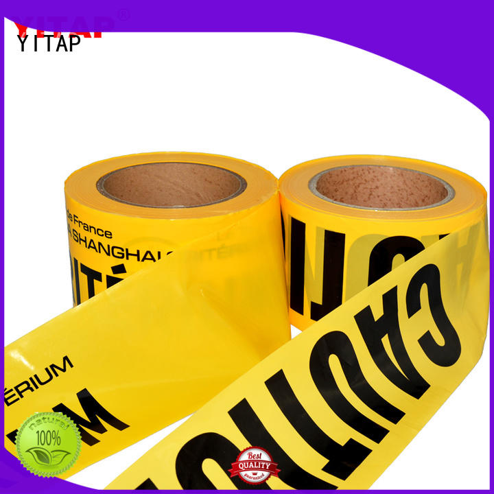 warning safety barricade tape manufacturers for caution