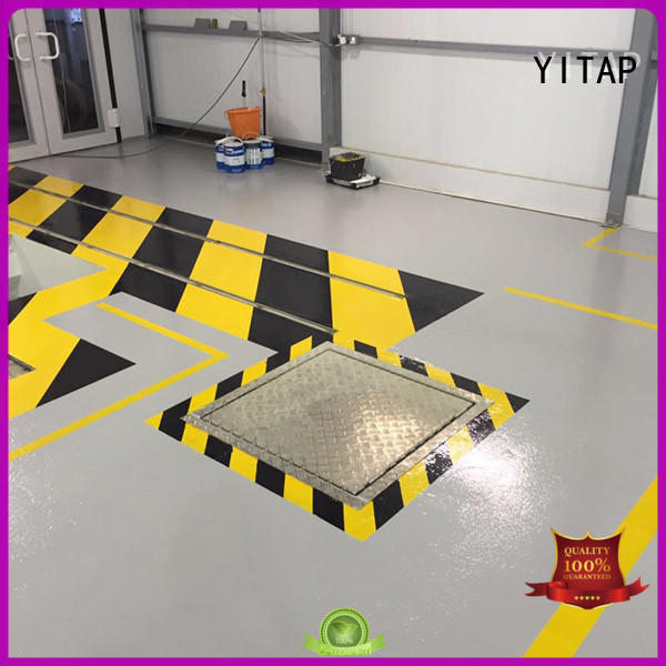 YITAP high density fluorescent cloth tape for mats