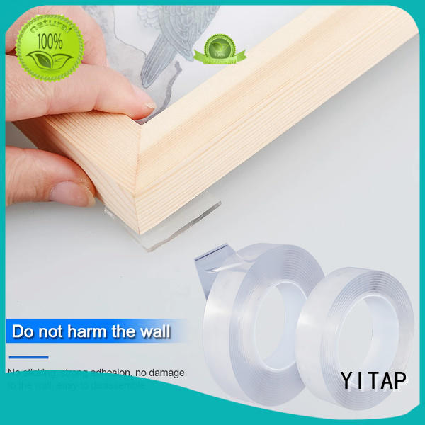YITAP custom carpet edging tape double sided for grip