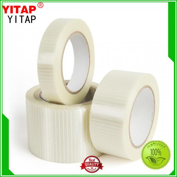 YITAP Breathable gummed kraft paper tape free sample for box covering