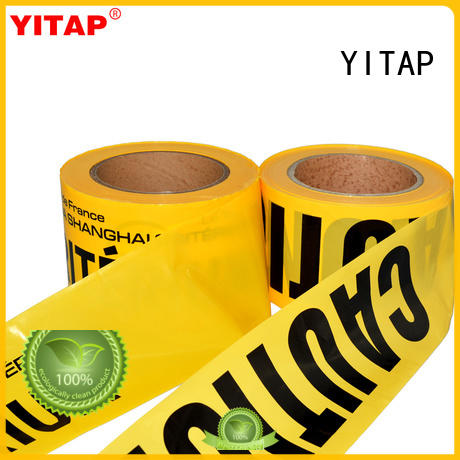 anti slip safety barricade tapesupply for warning
