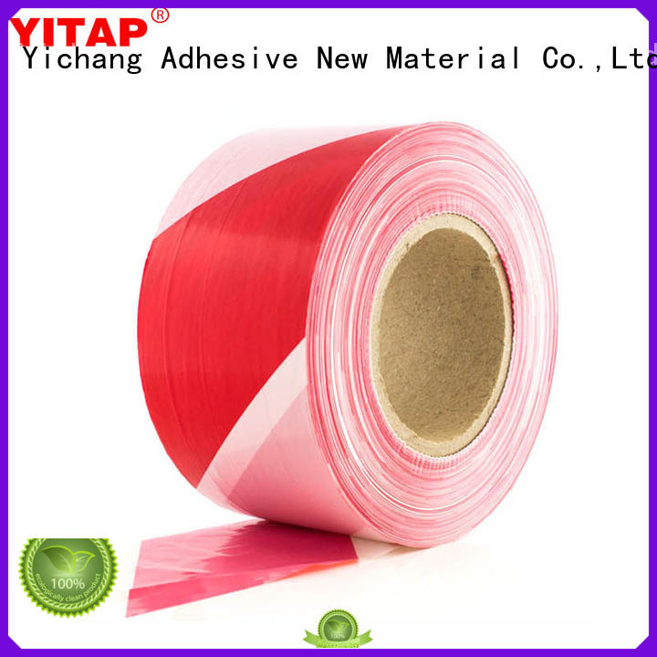 YITAP red barricade tape apply