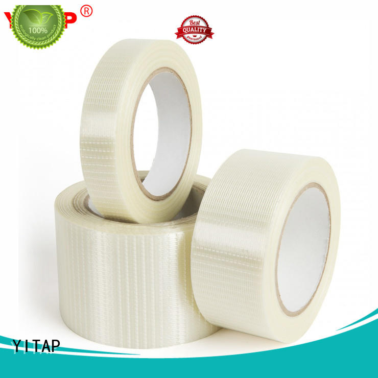 High Adhesive Fiberglass Reinforced Cross Filament Strapping Tape