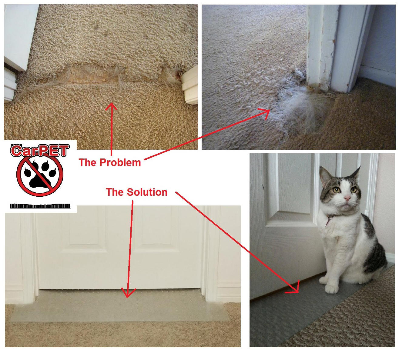 Furniture Guard Self Adhesive Cat Scratch Protector-3