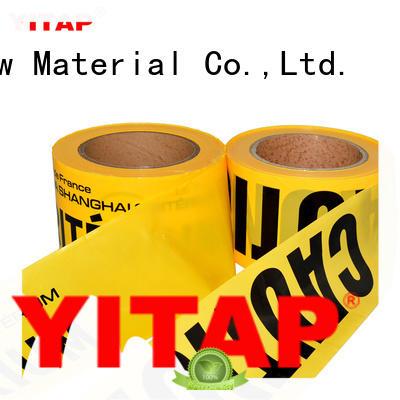 waterproof safety barricade tape apply