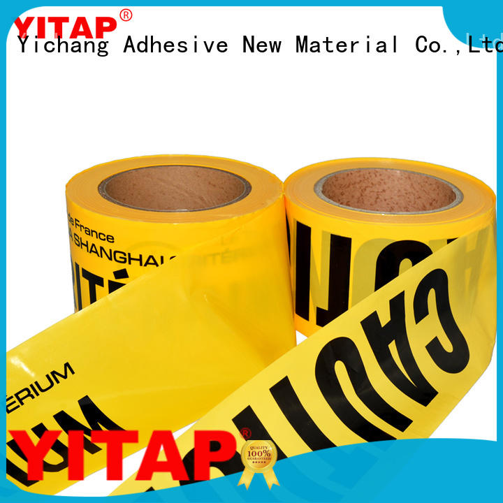 YITAP safety barricade tape apply for steps