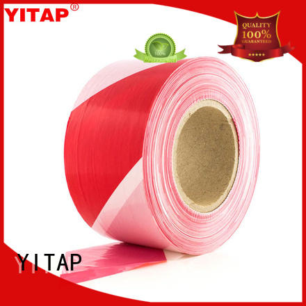 YITAP anti slip red barricade tape price for steps